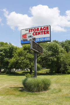The Storage Center of O'Fallon Illinois sign