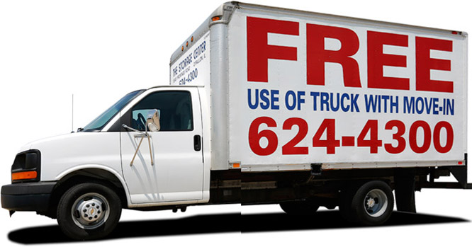 free O'Fallon, IL storage moving truck